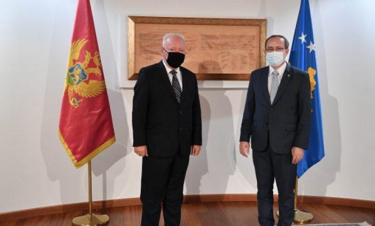 Hoti pret në takim ambasadorin e Malit të Zi në Kosovë