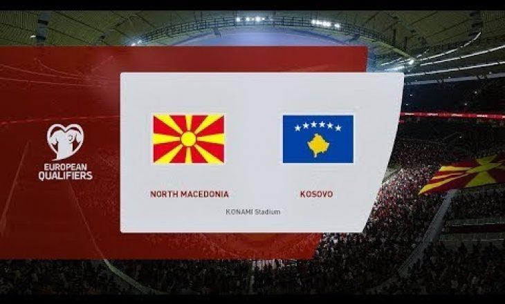 Formacioni i mundshëm i Kosovës përball Maqedonisë së Veriut
