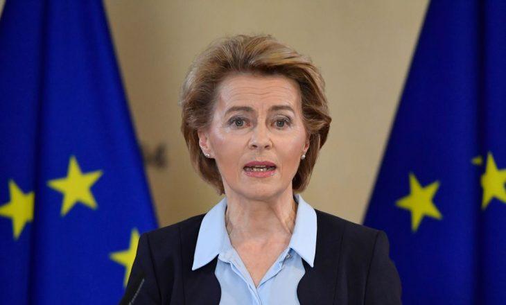Presidentja e Komisionit Evropian sërish në vet-izolim
