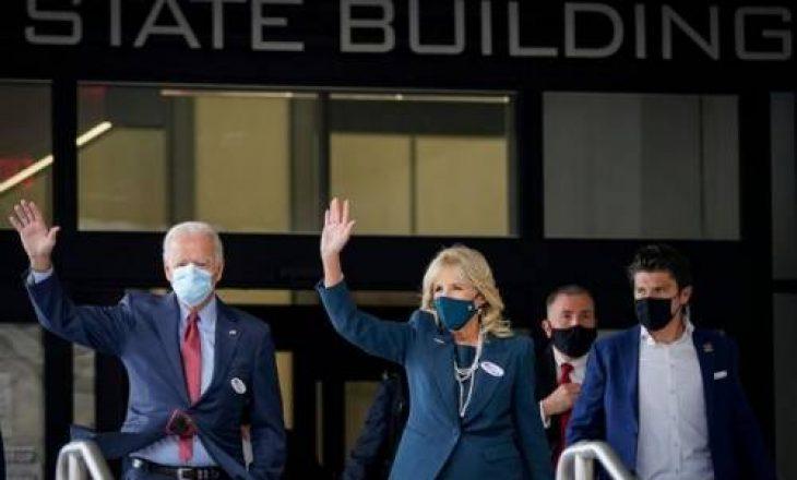 Joe Biden futet në mesin e 74 milionë amerikanëve që tanimë kanë votuar
