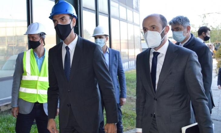 Delegacioni i lartë nga Departamenti Energjisë të SHBA viziton KEK-un