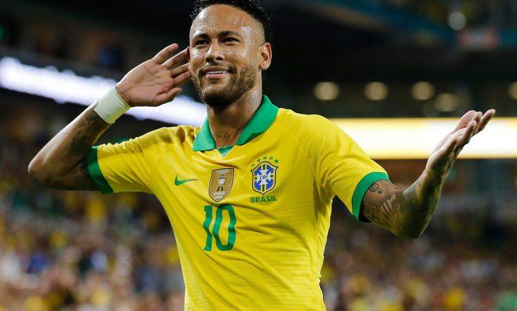 Hat-trick i Neymarit kundër Perus
