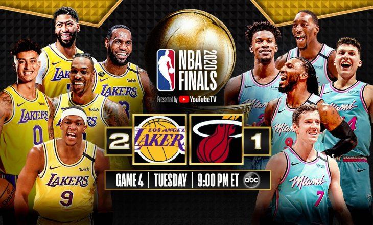 Miami Heat fiton ndeshjen e tretë finale ndaj Lakers, ngushton serinë finale në 2:1