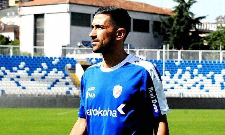 Sabien Lilaj, mesfushori i Prishtinës do të mungoj dy javë pas lëndimit