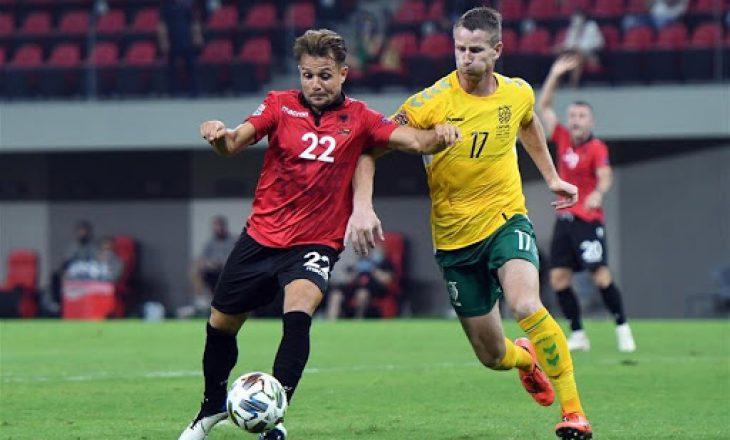 Mbyllet pjesa e parë pa gola në Lituani
