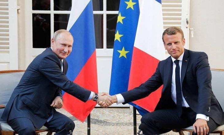 Macron dhe Putin kërkojnë të ndërpriten luftimet ne Nagorno – Karabakh