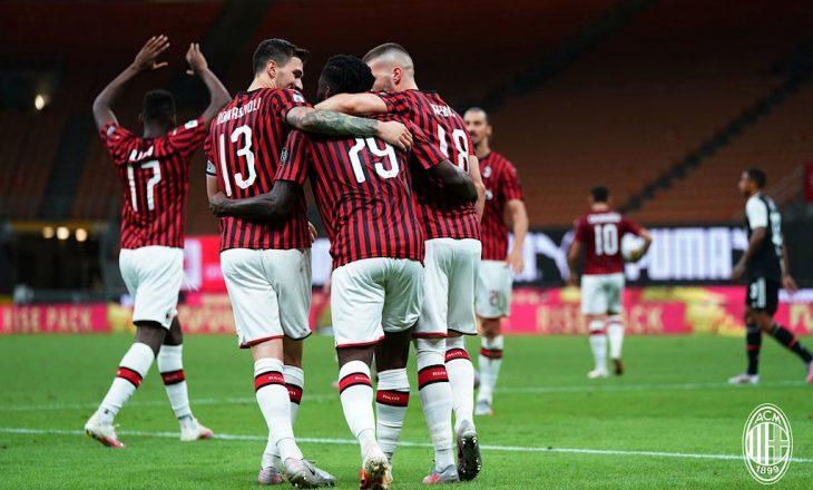 Milani vazhdon me fitore