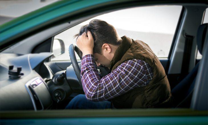 Të kuptuarit e frikës nga ngasja e makinës