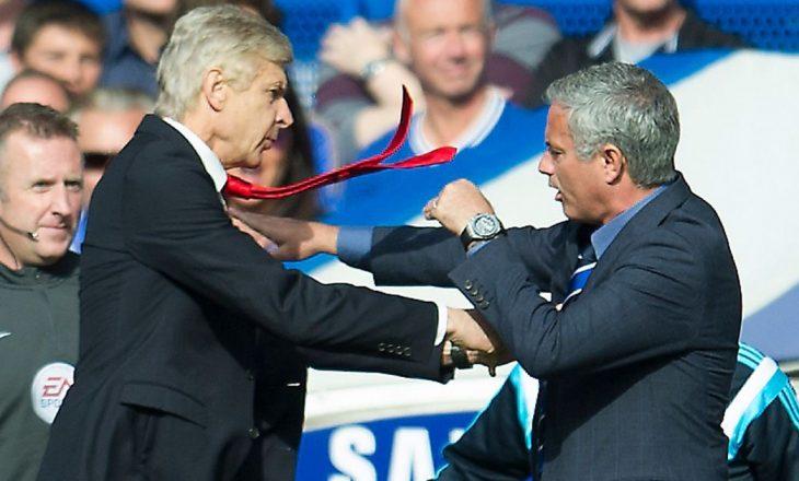Wenger: Kur merrem me Mourinhon më duket vetja se jam në çerdhe