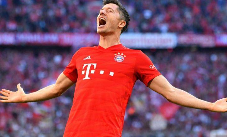 Nuk ndalet Lewandowski, shënon katër gola në ndeshje