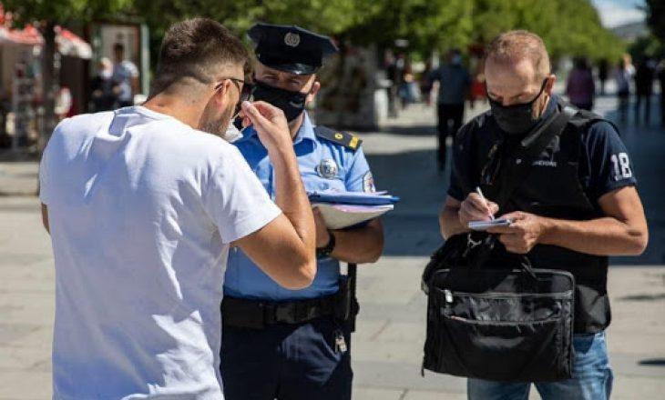 Policia shqipton shumë gjoba për ata që nuk po respektojnë rregullat anti-COVID