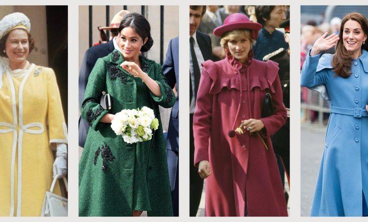 Frymëzohuni nga gratë e mbretërisë për palltot e këtij sezoni