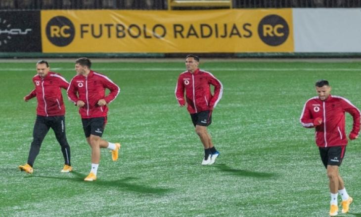 Shqipëria sonte luan me Lituaninë