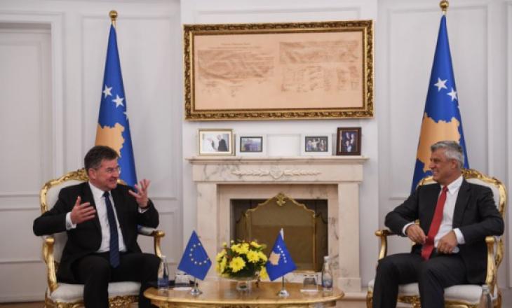 Lajçak pas takimit me Thaçin: Ramë dakord që Kosova ka nevojë për një marrëveshje gjithëpërfshirëse
