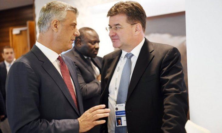 Thaçi: Lajçak më informoi për qëllimin që dialogu të përfundojë me njohje reciproke