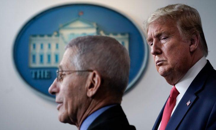 Trump: Dr. Fauci është një katastrof