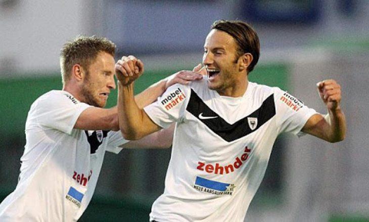 Shkëlzen Gashi shënon dy gola në Zvicër, i jep fitoren Aarau