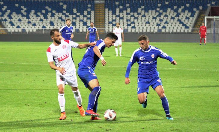 Gjilani fiton si mysafir i Prishtinës