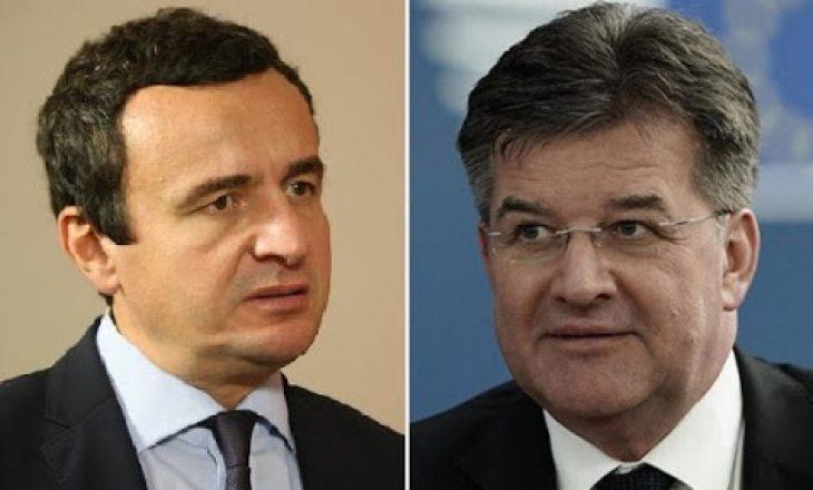 Lajçak takohet sot me liderët e partive kosovare