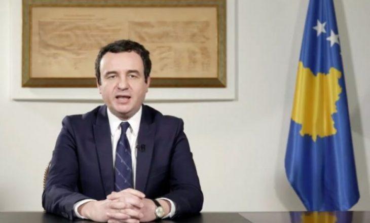 Kurti: Kosovës sonë i urojmë fitore