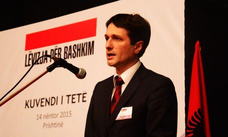Valon Murati rizgjedhet kryetar i Lëvizjes për Bashkim