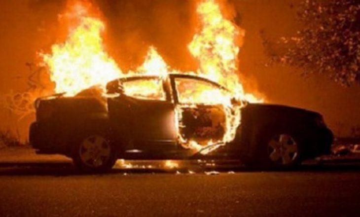 I vënë zjarrin veturës në Ferizaj