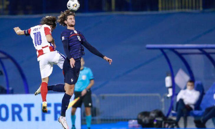 Franca e mposhtë Kroacinë
