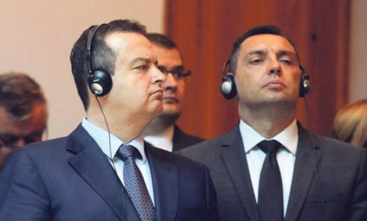 """Gazeta zvicerane shkruan për ofendimet që Daçiq e Vulin ua bën shqiptarëve e boshnjakëve – dy ministrat serbë i quan """"rusofilë"""""""