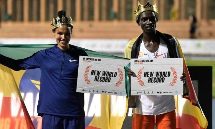 Në atletikë shënohen dy rekorde botërore