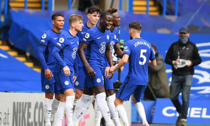 Chelsea fiton lehtësisht ndaj Crystal Palace