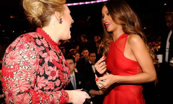 Rihanna flet për transformimin e jashtëzakonshëm të Adele