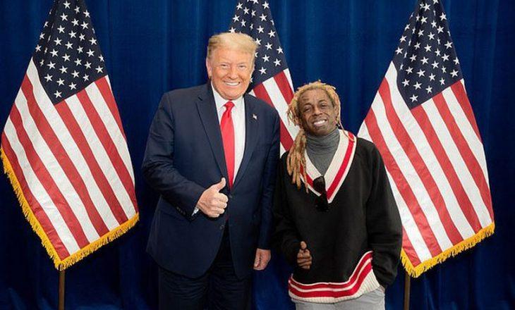 Reperin Lil Wayne e la e dashura sepse ai mbështet Trump