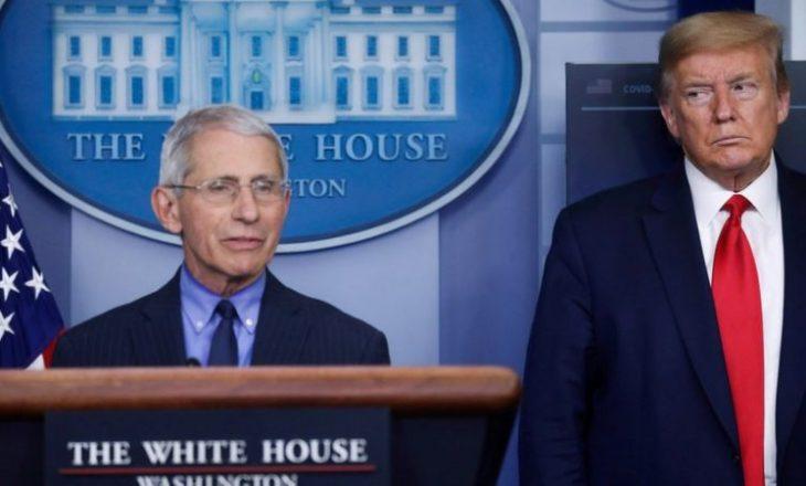 Shtëpia e bardhë akuzon Dr Fauci që po bën lojëra politike