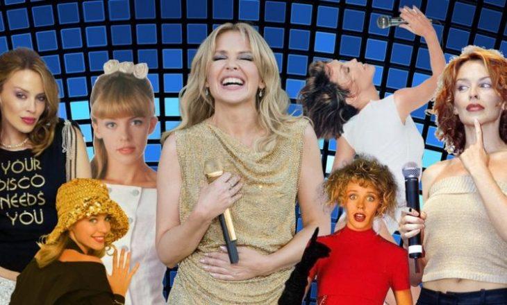 Kylie Minogue then rekordin britanik me albumin e saj të ri Disco