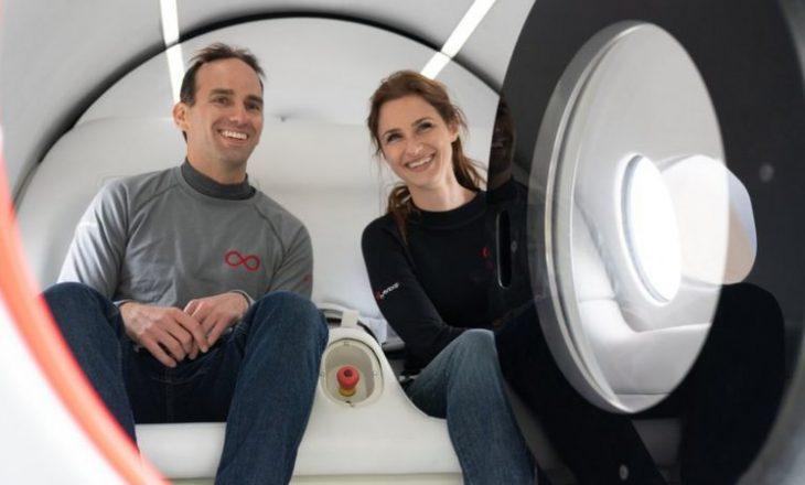 Virgin Hyperloop bën transportin e parë testues me pasagjerë