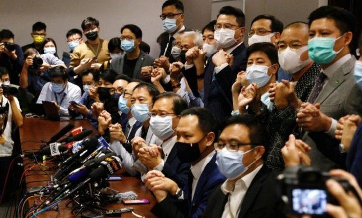 Hong Kong: Anglia dhe aleatët në konflikt me Kinën lidhur me politikat e saj