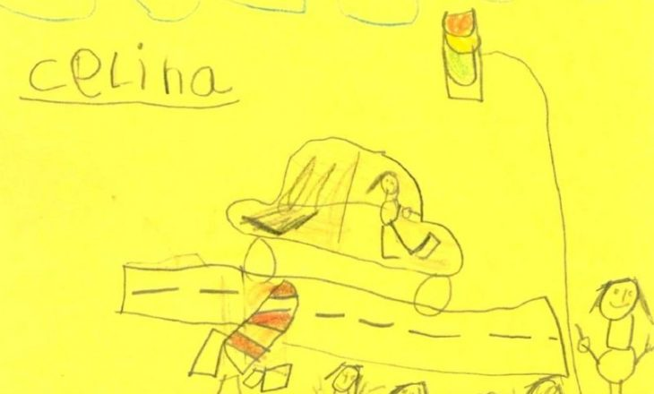 Skicat e fëmijëve 6 vjeçarë përdoren nga policia për të gjurmuar krimin