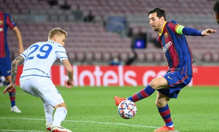 Barcelona shënon fitore me vështirësi, Juventus mposht hungarezët me lehtësi