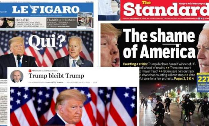 """Mediat botërore raportojnë për """"kaos"""" dhe """"turp"""" në SHBA-në e përçarë"""