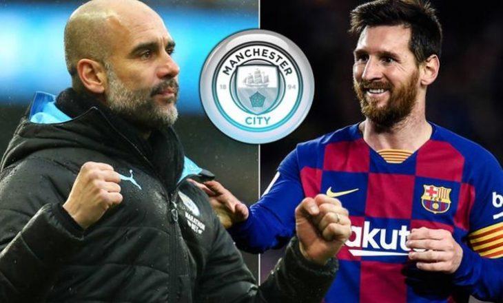 """Guardiola mendon transferimin e Messi-t në """"Etihad"""""""