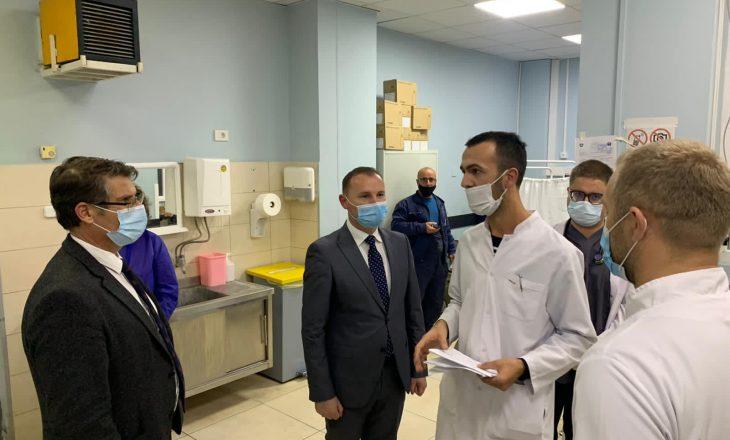 Zemaj: QKUK është e mobilizuar për pacientë me Covid-19