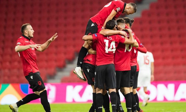 Pas pjesës së parë Shqipëria në avantazh prej dy golash ndaj Bjellorusisë