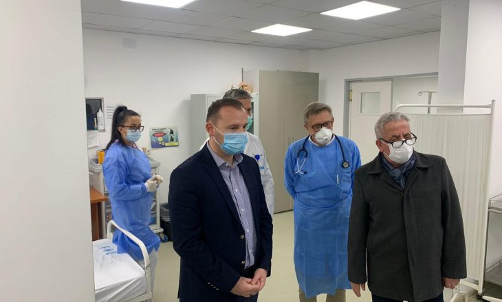 Zemaj viziton Spitalin e Gjilanit – Apelon te qytetarët: Ndryshoni sjelljet e deritanishme