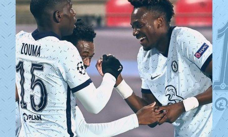 Chelsea në avantazh pas pjesës së parë ndaj Rennes