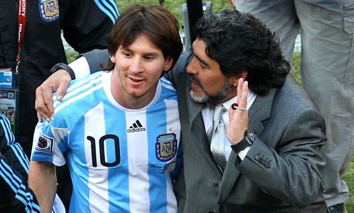 Messi: Diego është i përjetshëm