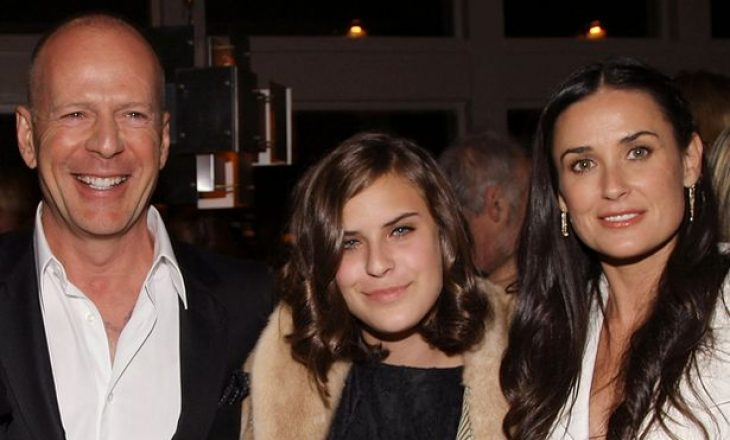 Vajza e Bruce Willis dhe Demi Moore do të bëj skanim truri në kërkim të traumave të vjetra