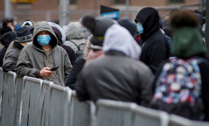 SHBA-ja raporton 2.631 viktima nga COVID-19 në 24 orët e fundit