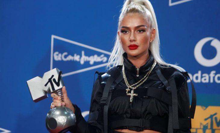 """Loredana nominohet sërish në """"MTV Europe Awards"""""""