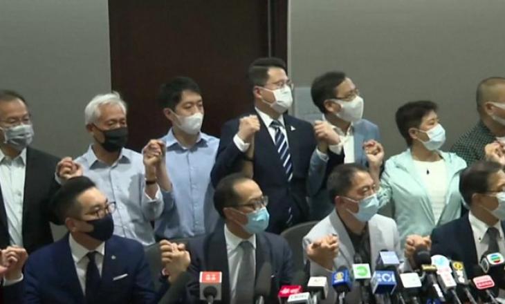 Vazhdojnë tensionet mes Pekinit e Hong Kong-ut