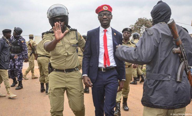 Protesta në Uganda pas arrestimit të Bobi Wine